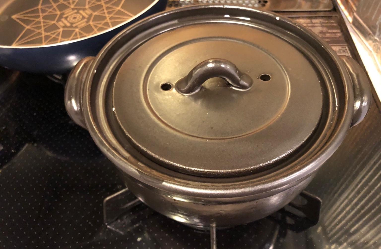 台ヶ森焼 ご飯釜